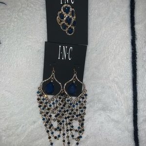 BRAND NEW! INC  earrings and fashion ring